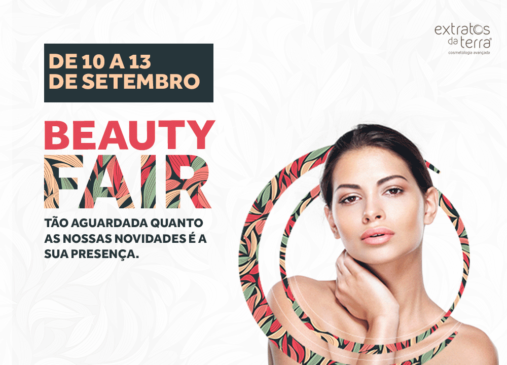 A Extratos da Terra estará presente na Beauty Fair 2016
